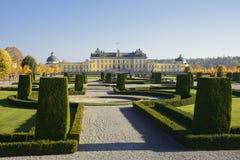 Замок Drottningholm и парк, Стокгольм Швеция стоковое изображение