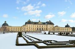 Замок Drottningholms в Стокгольме - Швеции стоковые изображения rf
