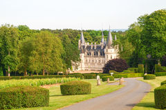 Замок du Nozet - Pouilly-sur-Луара стоковое фото