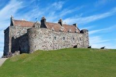 Замок Duart, остров обдумывает Стоковые Изображения RF