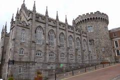 замок dublin Ирландия Стоковая Фотография
