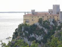 Замок Duino стоковое изображение