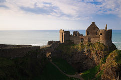 Замок Dunluce Стоковые Изображения
