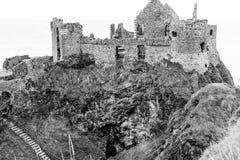 Замок Dunluce Стоковые Фотографии RF