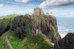 замок dunnotar stonehaven Стоковое Изображение