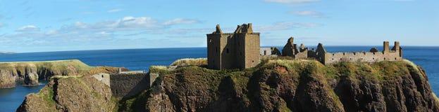 Замок Dunnottar, Шотландия, Европа Стоковое фото RF