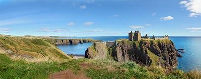 Замок Dunnottar, Шотландия, Европа Стоковая Фотография RF