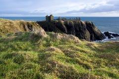 замок dunnottar Шотландия Стоковое Фото