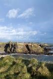 замок dunnottar Шотландия Стоковые Изображения
