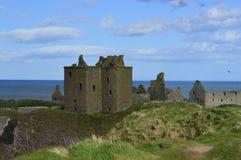 замок dunnottar Шотландия Стоковые Фотографии RF