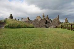 замок dunnottar Шотландия Стоковые Изображения RF