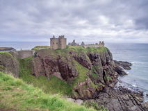 замок dunnottar Шотландия Стоковая Фотография RF