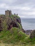 замок dunnottar Шотландия Стоковая Фотография