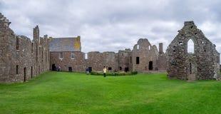 замок dunnottar Шотландия Стоковое Изображение