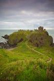 замок dunnottar Стоковые Изображения RF