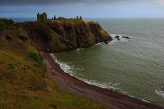 замок dunnottar Стоковые Фото
