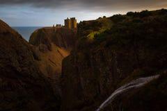 замок dunnottar стоковое фото