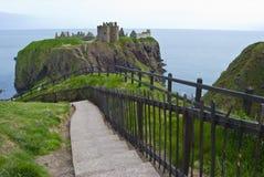 замок dunnottar Стоковое Изображение