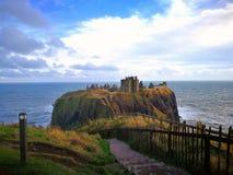 замок dunnottar Стоковое Изображение RF