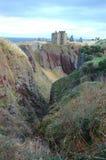 замок dunnottar Стоковые Изображения