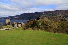 Замок Dunnottar, Aberdeenshire, Шотландия Стоковые Фотографии RF