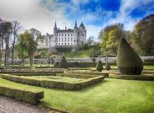 Замок Dunrobin, Шотландия Стоковые Изображения RF