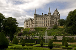 Замок Dunrobin Стоковое Изображение