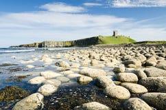 Замок Dunstanburgh Стоковое Фото