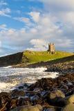 Замок Dunstanburgh Стоковая Фотография
