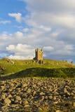 Замок Dunstanburgh Стоковые Фото