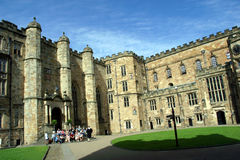 замок durham Англия стоковые изображения