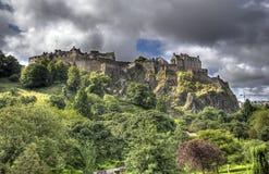 Замок Edinburg Стоковое Изображение