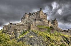 Замок Edinburg Стоковые Фотографии RF