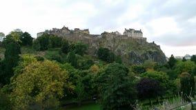 Замок Edinburg Стоковые Изображения RF