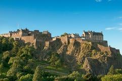 замок edinburgh Шотландия Великобритания Стоковое Фото