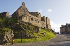 замок edinburgh Шотландия Стоковое Фото
