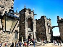 замок edinburgh Шотландия Стоковое фото RF