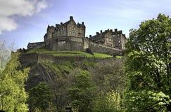 замок edinburgh Стоковое Изображение RF