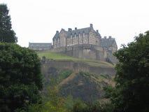 замок edinburgh Стоковое Фото