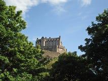 замок edinburgh Стоковая Фотография