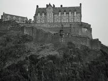 замок edinburgh Стоковые Фотографии RF