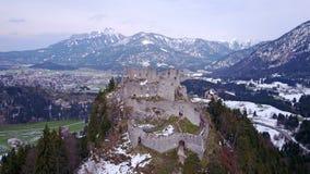 Замок Ehrenberg в Reutte, Австрии Стоковое Фото
