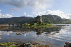 Замок Eilean Donan близко к Skye стоковое изображение