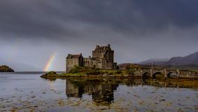Замок Eilean Donan, Кайл Lochalsh, Шотландии стоковая фотография