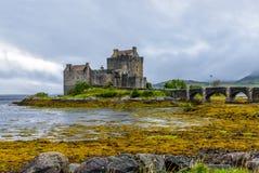 Замок Eilean Donan, Шотландия Стоковая Фотография RF