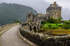 Замок Eilean Donan, Шотландия Стоковые Фотографии RF