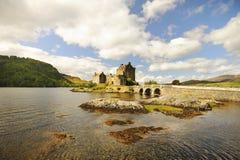 Замок Eilean Donan, loch Duich, Шотландия Стоковая Фотография