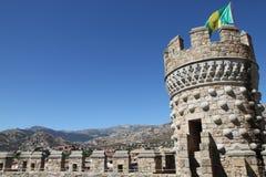 замок el manzanares реальный Стоковая Фотография