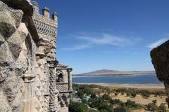 замок el manzanares реальный Стоковые Фотографии RF