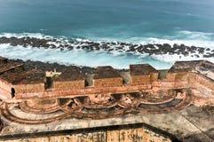 Замок El Morro, Сан Жуан, Пуерто Рико Стоковые Фотографии RF